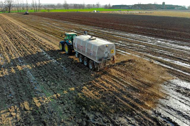 A imagem mostrava a sobreposição da poluição observada no norte da Itália com os subsídios pagos pela UE aos agricultores da região. Imagem ilustrativa de Pascvii por Pixabay