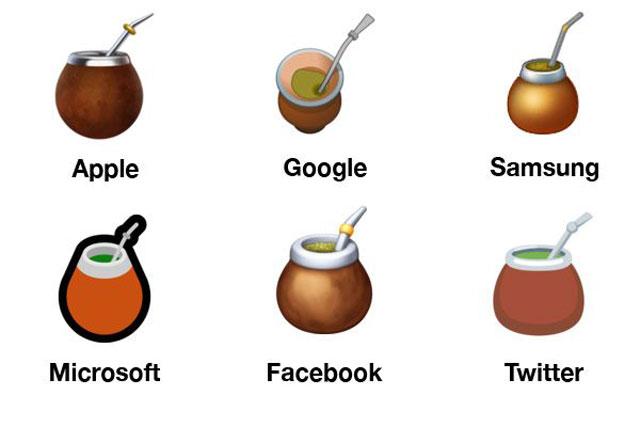 Agora você pode usar o novo emoji do chimarrão para convidar os amigos para um chimarrão