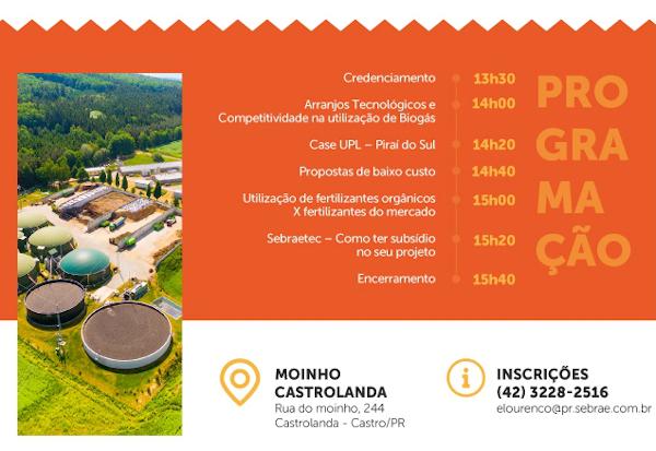 A usina de biogás que está sendo construída pela Unium tem inauguração prevista para março e será um dos principais cases trazidos no seminário