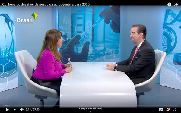 O presidente da Empresa Brasileira de Pesquisa Agropecuária (Embrapa), Celso Moretti, afirmou que o setor agropecuário é o que mais trouxe inovação à economia brasileira.