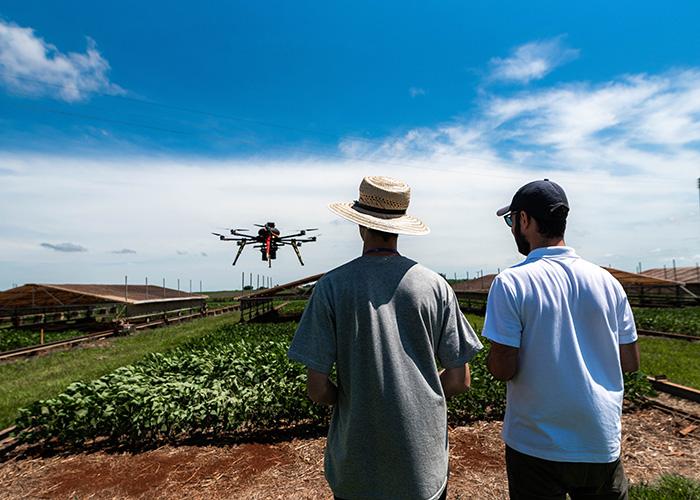 Tecnologias de monitoramento permitem que pesquisadores acompanhem a evolução de sistemas produtivos no norte do Paraná. Foto Antonio Neto