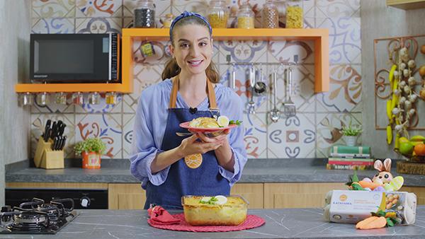 Youtuber Gabriela Rossi participa do Canal Ovo de Novo e conta que não pode faltar em sua geladeira o ingrediente queridinho dos brasileiros, o ovo