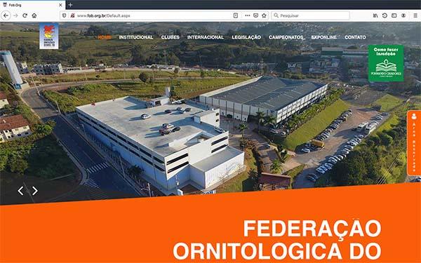 Você conhece a FOB - Federação Ornitológica do Brasil