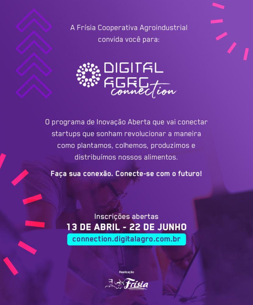 Digital Agro Connection seleciona as mais inovadoras startups para o agronegócio
