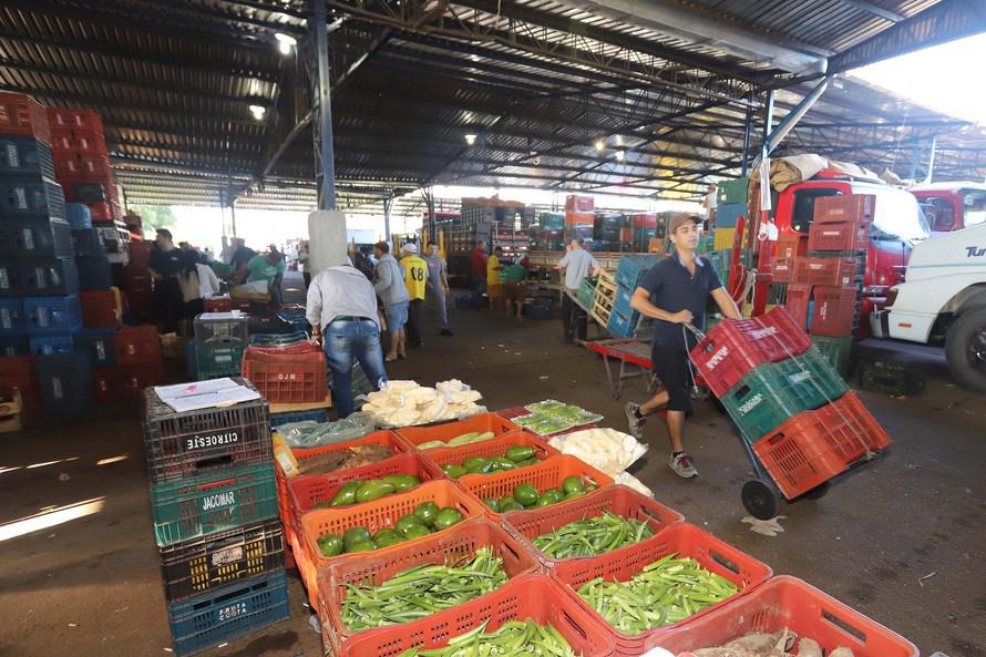 Em média, por ano, as cinco Ceasas do Paraná comercializam cerca de 1,2 milhão de toneladas de hortigranjeiros. Nessas unidades estão instaladas 645 empresas atacadistas.