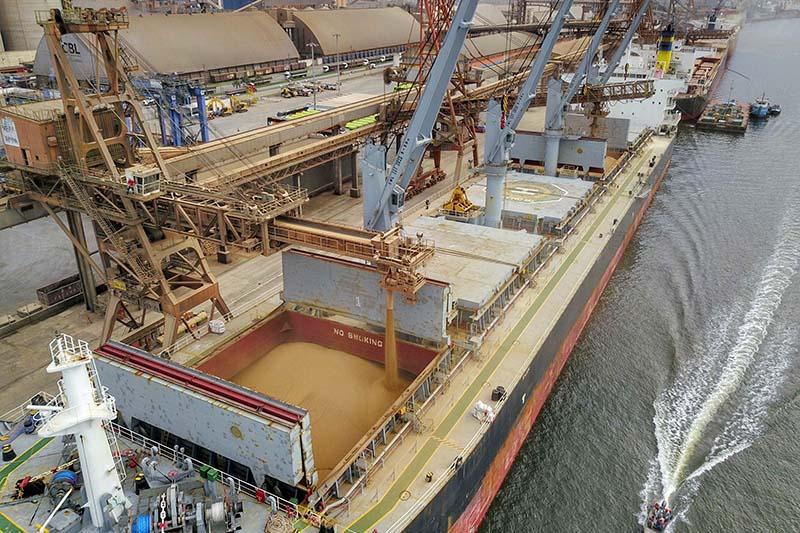 As exportações brasileiras para a Ásia, em todos os setores, subiram 15,5% no primeiro quadrimestre do ano, na comparação com o mesmo período de 2019.