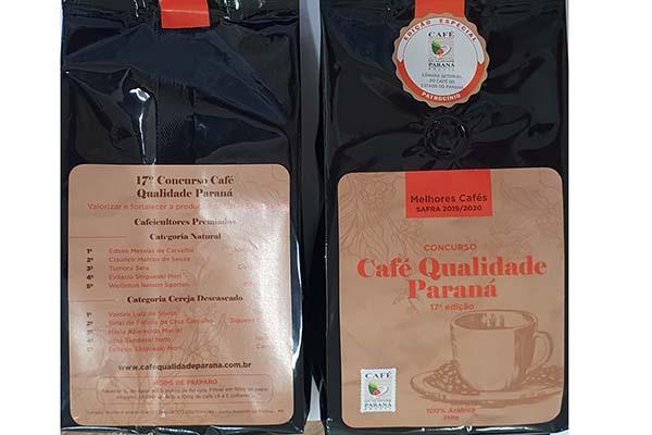 Na última edição, os cafeicultores Valdeir Luiz de Souza, de Tomazina, e Edson Messias de Carvalho, de Joaquim Távora, foram os grandes vencedores nas categorias cereja descascado e natural, superando 120 lotes que participaram da disputa