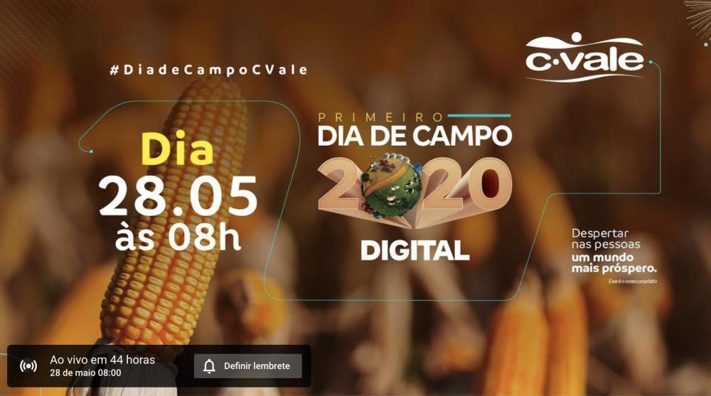 Ourofino Agrociência confirma participação no primeiro Dia de Campo Digital da C.Vale
