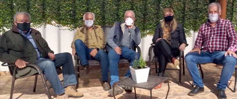 Sindicato Rural de Castro e produtores realizam reunião.  com a Deputada Federal Aline