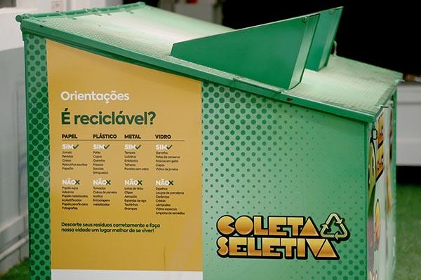 Ciclo da Reciclagem - Ponta Grossa possui 151 Pontos de Entrega Voluntária (PEVs)