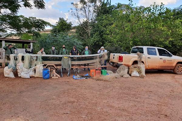O retorno da pesca será permitido quando atingirem novamente a cota hídrica para dispersão de cardumes e navegabilidade.