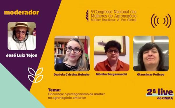 O evento contou com a participação de importantes líderes femininas do agro.