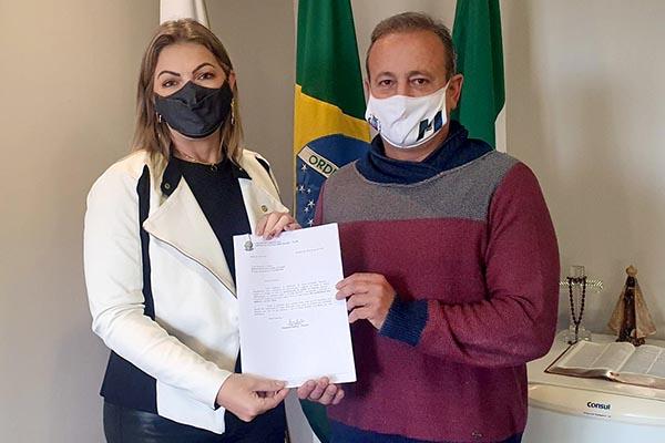 Emenda de R$ 10 mi da deputada Aline Sleutjes  será usada para asfaltar a estrada do Socavão