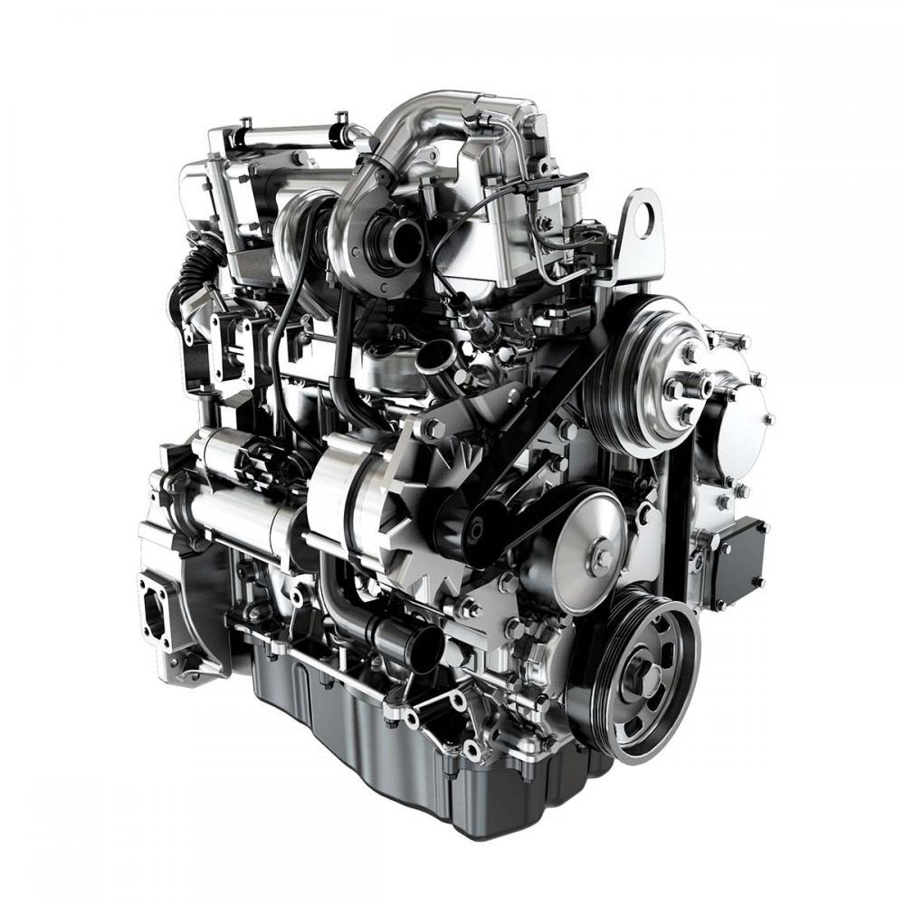 O motor FPT F32, com injeção mecânica e turbocompressor de geometria fixa, utiliza soluções técnicas testadas e comprovadas, fornecendo o equilíbrio perfeito entre desempenho e facilidade de manutenção.